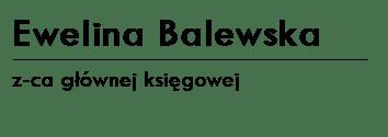 EWELINA BALEWSKA