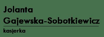 JOLANTA GAJEWSKA-SOBOTKIEWICZ