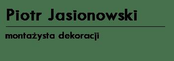 PIOTR JASIONOWSKI