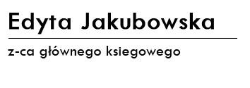 EDYTA JAKUBOWSKA